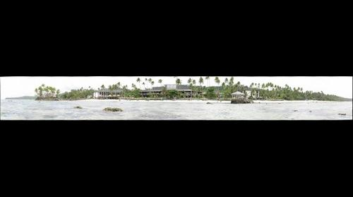 Warwick Resort, Fiji - from the sea