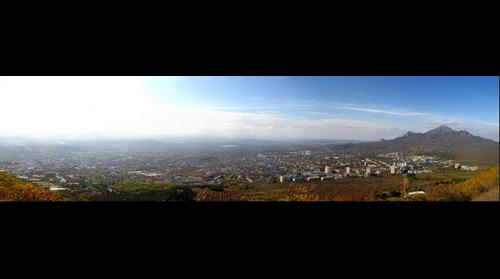 Pyatigorsk view from Mashuk