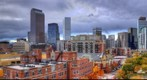 Denver Skyline HDR