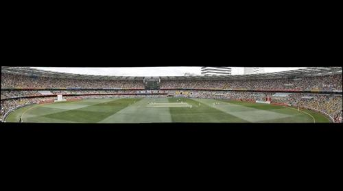 Ashes at Gabba England vs Australia .View 2