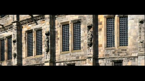 Facade of Falkland Palace