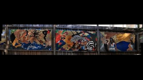 Angels Mural