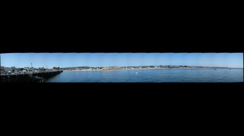 View from the Santa Cruz Warf