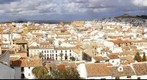 Panoramica de Antequera, desde la Alcazaba