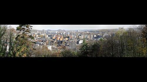Panorama de Liège depuis Cointe