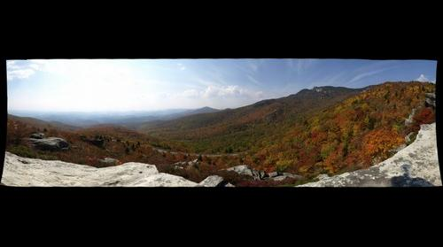Blue Ridge Parkway - Fall Foliage