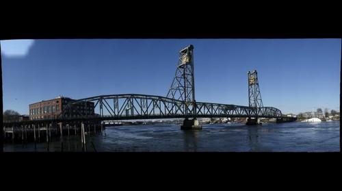 Memorial Bridge, Portsmouth, NH.