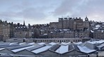 A view of Edinburgh on top of  Princes Mall Shopping Centre