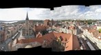 Panorama 360 of Torun from town hall&#39;s tower // Panorama 360 Torunia z wiey ratuszowej