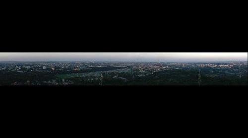 Cracow from Kosciuszko Mound