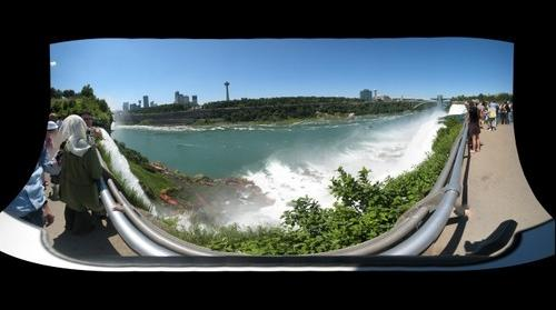 Niagara Falls  - American Falls lower deck