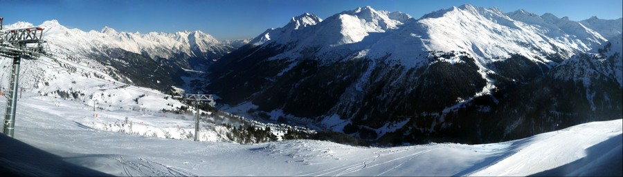 St. Anton from Galzig