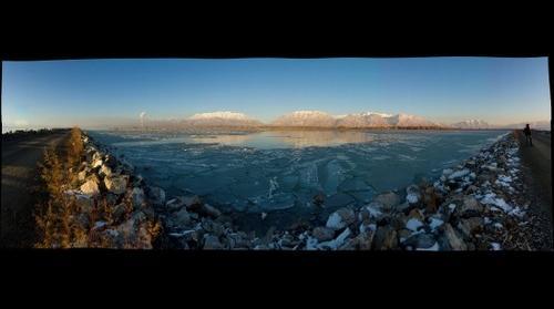Utah Lake Looking East