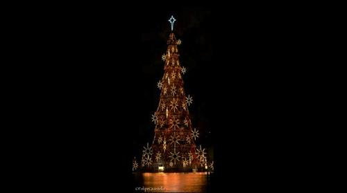 Floating Christmas Tree / Arvore de Natal da Lagoa