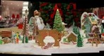 Macy's gingerbread village