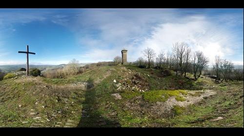 Peyrebrune Tower / Torre de Peyrebrune / Tour de Peyrebrune