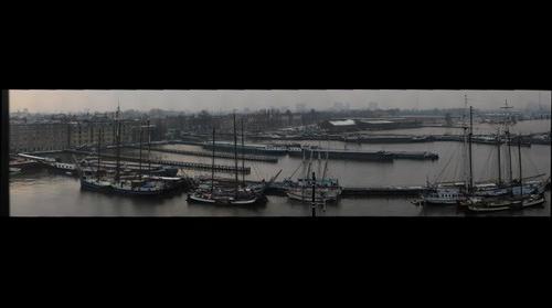 Panorama from Silodam, Amsterdam