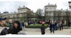 Notre Dame Paris France court yard