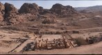 The Petra Great Temple from behind