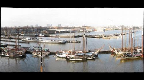 Panorama from the Silodam (looking West), Amsterdam