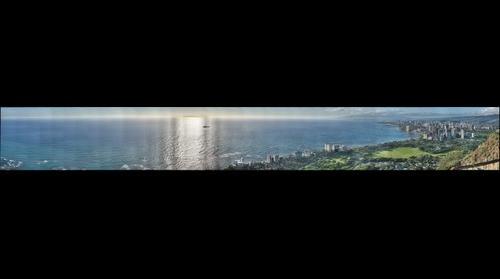 View From Diamond Head, Hawaii