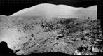 Apollo 17: The View from the Edge of Van Serg Crater