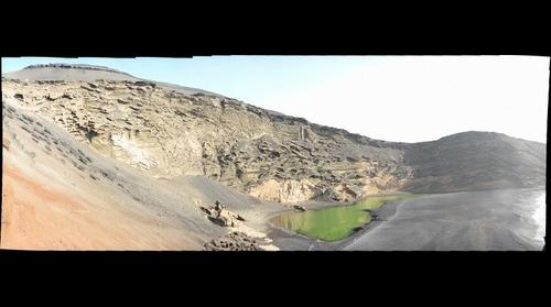 Lanzarote - Kratersee von El Golfo