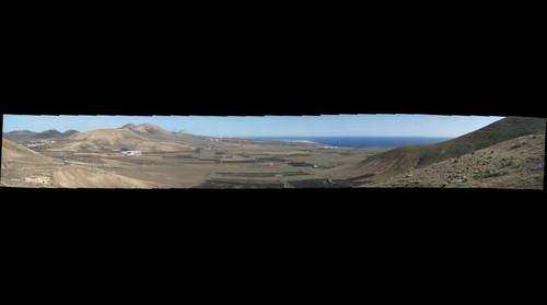 Lanzarote - Blick nach Norden gen Arrecife, Puerto Del Carmen, Puerto Calero