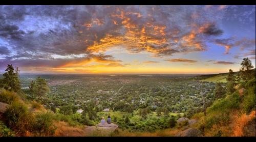 Boulder, Colorado Overlook 7/29/2010 ©Sam Kittner/kittner.com