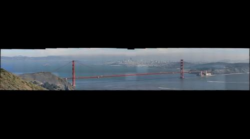 Golden Gate and SF Bay