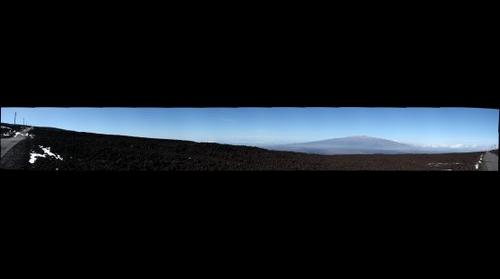 on Mauna Loa, near the ASHRA Observatory