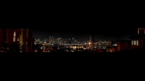Potrero Hill at Night