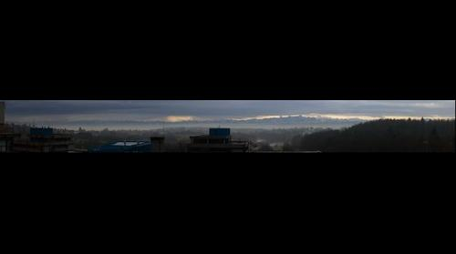 Panoramic view from the University of Konstanz