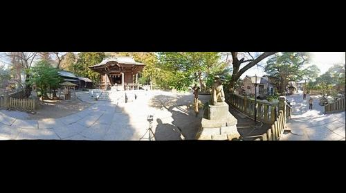 Goryo Jinja (Shrine), Kamakura