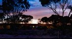 Caiguna Roadhouse Service Station, Just Past Dusk, Western Australia, Dec 18, 2010