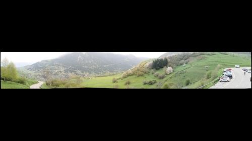 Vista desde un fuerte Cathar