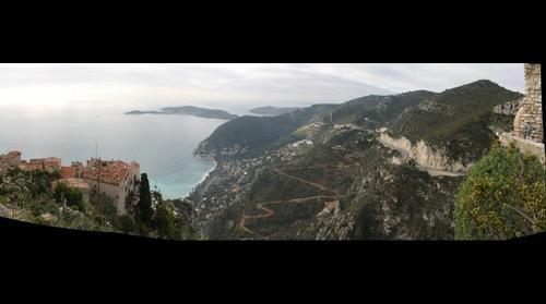 Mediterraneo desde Eze