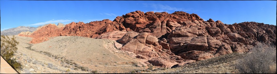 Aztec Sandstone, Calico Hills