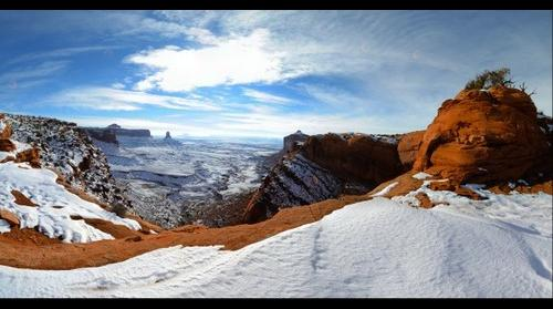 Overlook in Canyonlands National Park, UT, USA