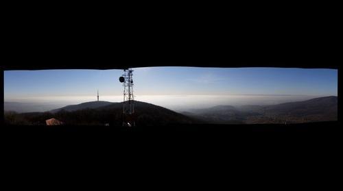 Pécs panoráma