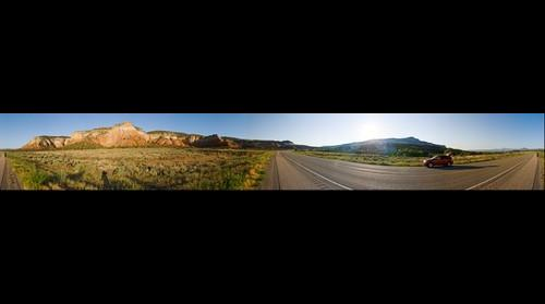 360 Panoramic just past Goast Ranch, Abiquiu NM