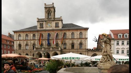 Weimar Marktplatz