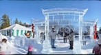 Ice Gate...Edmonton Ice Sculpture Festival