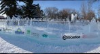 Ice Wall, Edmonton Ice Sculpting Festival