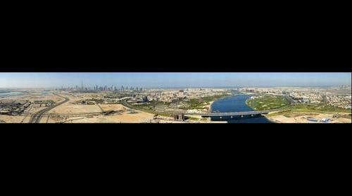 Dubai. Bird View