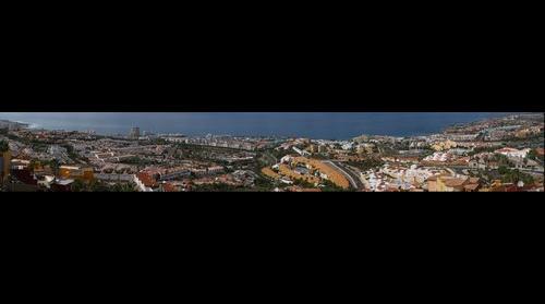 Costa Adeje, Tenerife. Vistas desde San Eugenio by photowebcanarias ©
