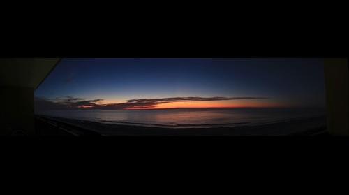 Myrtle Beach Sunrise Panoramic