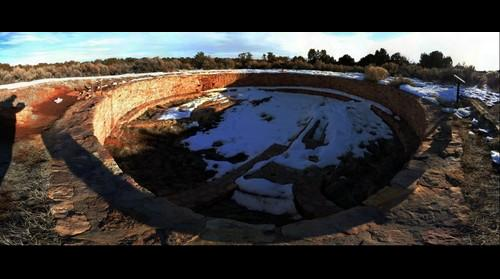Ancestral Puebloan ruins in SW Colorado