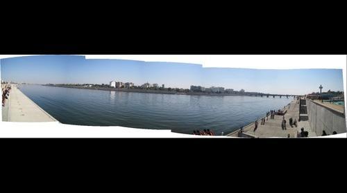 Ahmedabad Riverfront Panaroma