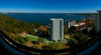 Swan River from Strathearn Building - Wide View (Park Ave and Kings Park Ave) Perth, Western Australia, Jan 11, 2011